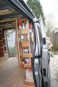 The nooks and crannies are up to Van Storage, Trailer Storage, Truck Storage, Tool Storage, Van Organisation, Van Shelving, Work Trailer, Mobile Workshop, Transit Custom