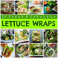 15 Ways To Make Lettuce Wraps - Looking to   cut down on bread? 15 ways to ditch the bread.