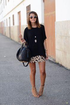 leopard skirt | Lovely Pepa