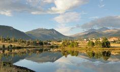 Lake Estes, Estes Park, CO, USA