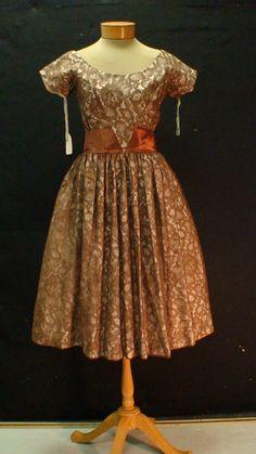 Vintage brown dress