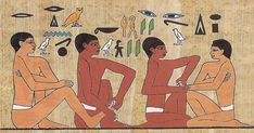 Ancient Egyptian Footwork: Reflexology therapy, beauty tool or relaxing foot rub?
