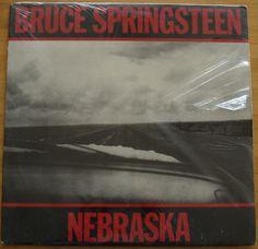 BRUCE SPRINGSTEEN * Nebraska * LP Record Album * CBS / Columbia TC38358 Offered by #KYwahine on Bonanza
