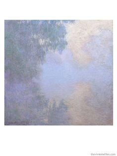 Branch of the Seine by Claude Monet