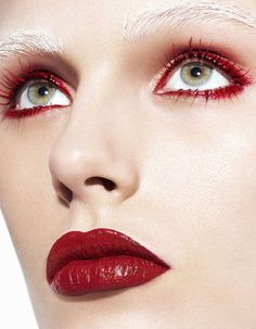 "Madison Headrick in ""Red Crush"" by Kai Z Feng for Harper's Bazaar China, April 2014"
