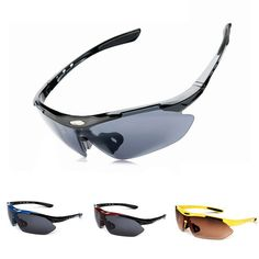 270c4cf3c2011e Brand Designer Outdoors Sports Cycling Bicycle Bike Riding Mens SunGlasses  Eyewear Women Goggles Glasses UV400 Lens