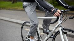 Rapha Cycling Trousers - $140. Trying to steer away from wearing jeans every day, but I need something durable.