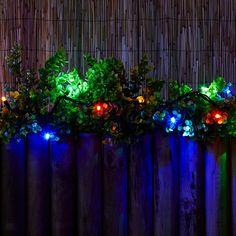 80e49babf4001 Connectable Multi-Coloured LED String Lights - 50 Lights - Lighting Direct  #bohemianlightingdirect Lighting