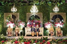 Traditional Sundanese Wedding With A Magical Indoor Garden - 031