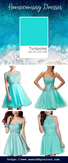 Beautiful turquoise homecoming dresses curated from top designers such as Jovani, Sherri Hill etc. 40 Year Old Womens Fashion, Plus Size Fashion For Women, Dressy Casual Outfits, Casual Dresses, Turquoise Homecoming Dresses, Pink Fashion, Fashion Dresses, Mother Daughter Dresses Matching, Top Designers