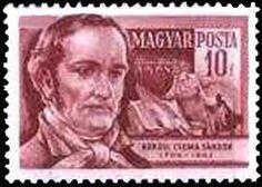 Znaczek: Sándor Kőrösi Csoma (1784-1842) explorer and writer (Węgry) (Scientists) Mi:HU 1399,Sn:HU 1099,Yt:HU 1141