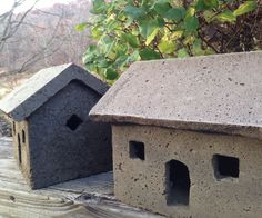 Here's a simple method for casting your own hypertufa cottage, or fairy house, for miniature gardening. I typically make my cottage molds out of urethane rubber and plastic so they are reusable, but after many request, I have come up with a simplified mold that anyone can make. I have kept this project very basic, but you can expand on it by adding integral pigment or carving details and textures in the mold.