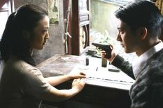 Leehom Wang and Wei Tang in Lust, Caution (2007)