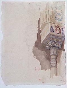 Mariano Fortuny y Marsal -- watercolor