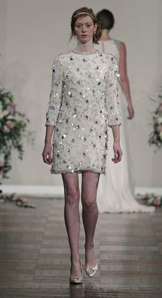 #JennyPackham Short #Wedding Dress - Principessa