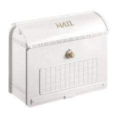 おしゃれ郵便ポスト ユーロバッグ(クールホワイト) CTR2800W2