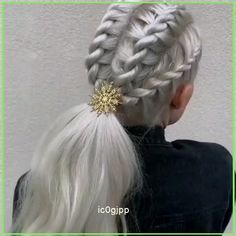 Cute Hairstyles, Braided Hairstyles, Hair Starting, Stylish Hair, Hair Videos, Hair Beauty, Beauty Ad, Hair Looks, New Hair