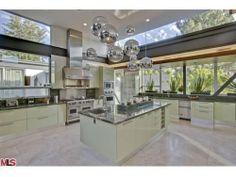 """Ashton Kutcher""""s kitchen."""