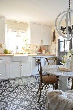 Summer Home tour and fresh updates to your kitchen.