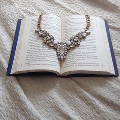 Snow White Statement Necklace #happinessbtq