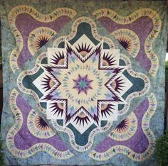 Glacier Star, Quiltworx.com, Made by Gloria Griffith Schreiber