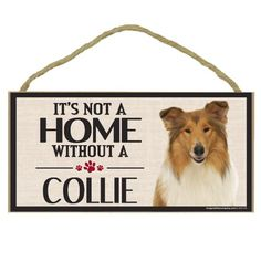 Imagine This Wood Sign for Collie Dog Breeds ** Learn more by visiting the image link. (This is an affiliate link)