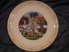 Vintage Maine Collectors Plate by OrzoValentine on Etsy