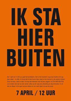 Doe mee op 7 april!!! Nederland bekent kleur!!