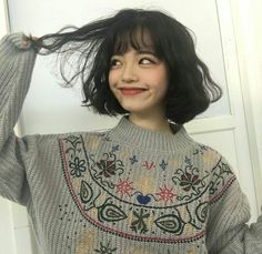 cute girl ulzzang 얼짱 pretty kawaii adorable beautiful hot fit korean japanese asian soft aesthetic 女 女の子 g e o r g i a n a : 人 Hairstyles With Bangs, Pretty Hairstyles, Cut My Hair, Hair Cuts, Hair Inspo, Hair Inspiration, Soft Grunge Hair, Aesthetic Hair, Aesthetic Clothes