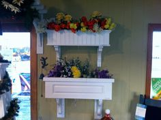 Indoor Window Boxes: I am putting these in my kitchen, made of old drawers