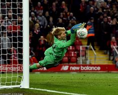 Liverpool's young goalkeeper Caoimhin Kelleher made the crucial save from Dani Ceballos' penalty in the shootout Liverpool Goalkeeper, Liverpool Football Club, Liverpool Fc, Penalty Shoot Out, James Milner, Hector Bellerin, Arsenal Players, Best Club, Under Pressure