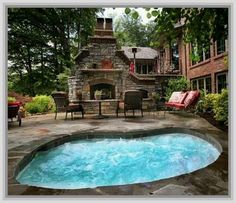 Simple Outdoor Patio Ideas With Hot Tub