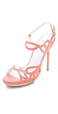 alice+olivia phoebe cutout sandals