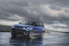 Pebble Beach Debut For New Range Rover Sport SVR: The Fastest, Most Powerful Land Rover Ever