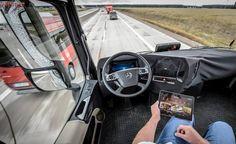 Google está testando caminhões autônomos