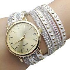 ca2834f75e8 2017 New Fashion Ladies Quartz Sport Rose Gold Women Watch PU Leather Wristwatch  Relogio Feminino Braclete