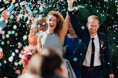 Wedding inspiration for Australian & New Zealand couples Celestial Wedding, Confetti, Wedding Inspiration, Couples, Holiday Decor, Photography, Color, Fotografie, Photography Business