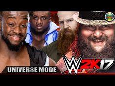 #WWE2K17 New Day vs Wyatt Family - Universe Mode (Smackdown)