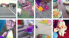 Bereicherndes Wochenende in Bildern #wib #mamablog #familienleben #fahrradtraining #monchichi