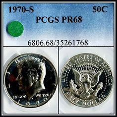 PR68 1964 SILVER WASHINGTON QUARTER PCGS GRADED 25C PROOF COIN LIBERTY PR 68+
