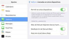 Cómo desactivar las llamadas duplicadas entre dispositivos en iOS 10