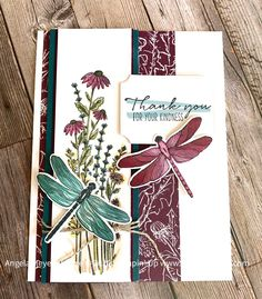 Dandy Garden Suite — Wild Violets Art Butterfly Cards, Flower Cards, Dragon Garden, Stampinup, Stampin Up Catalog, Fun Fold Cards, Stamping Up Cards, Sympathy Cards, Paper Cards