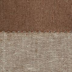ANICHINI Fabrics | Janus Chestnut 1 Residential Fabric - a brown double faced linen fabric