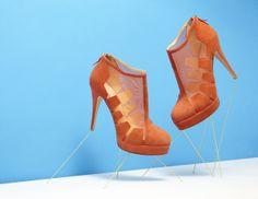 'Snap It Up' | A series of stills by Bionda Castana | Shoes as Art    PHOTOGRAPHY: AARON TILLEY  STILL LIFE STYLIST: MICHELLE HILLIER    SHOE: 'BELEN' SS12, BIONDA CASTANA