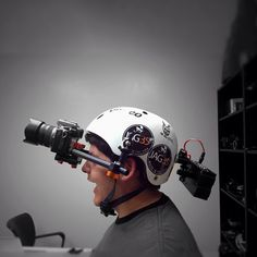 Seems @egthecameraman is crazy!! Came up with a crazy helmet cam! By @jag35