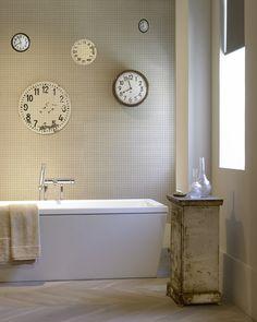 Revestimiento mosaico para las paredes del baño #mosaico #decorhome #tendencias