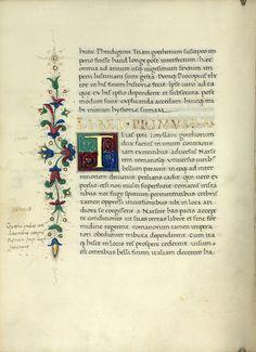 Cod. Lat. 413  Agathias: De bello Gothorum  1483-1484 körül. Nápoly, Pergamen.