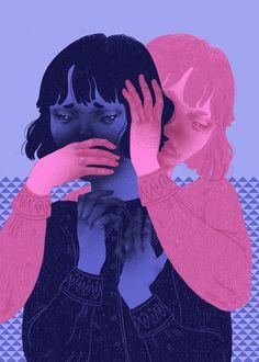Die Schwäche - New Ideas Deep Art, Sad Art, Portrait Art, Aesthetic Art, Art Girl, Art Inspo, Art Reference, Cool Art, Concept Art