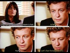 patrick jane, the mentalist, and tv image