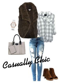 """Casually Chic"" by wilsonsleather ❤ liked on Polyvore featuring Wilsons Leather, Black Rivet and Marc by Marc Jacobs"